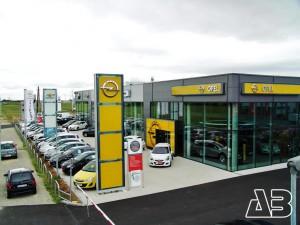 Luftbild Auto Eisner, Neusiedl