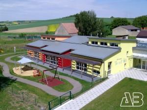 Lufbild Kindergarten Bullendorf