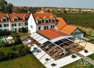 Luftbild Nationalparkhotel Illmitz