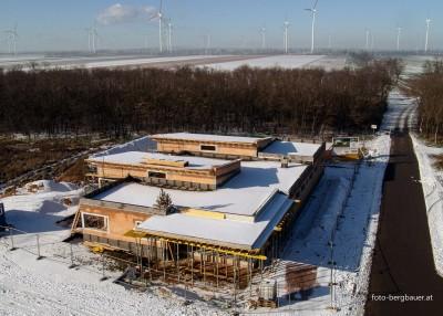 Bau Kiga Neudorf   8.1.2016